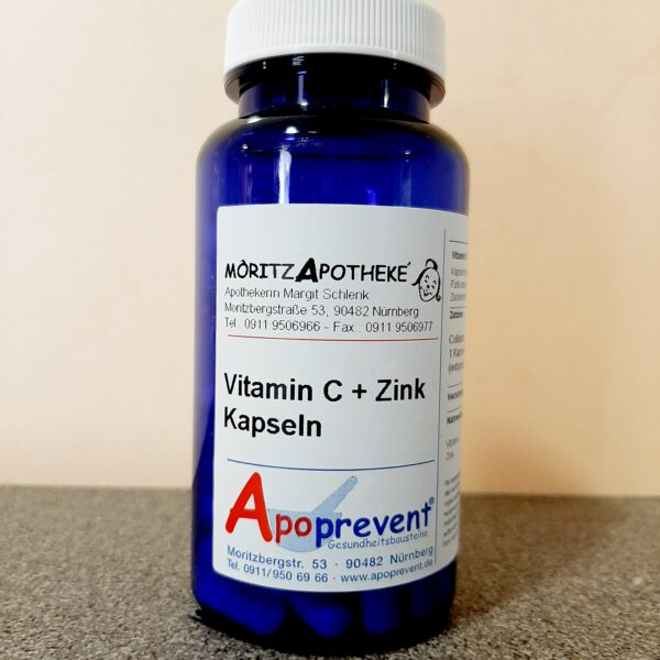 Vitamin C plus Zink Kapseln